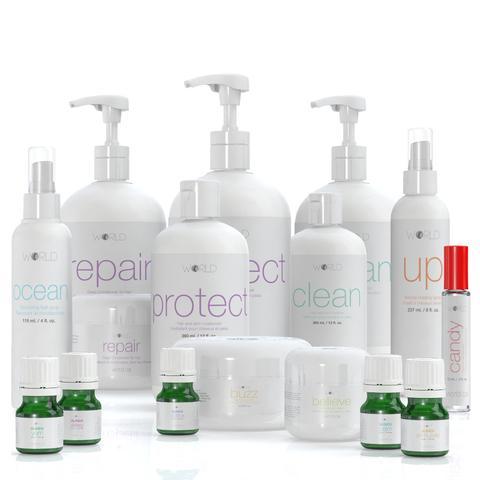 world shampoo&conditioner