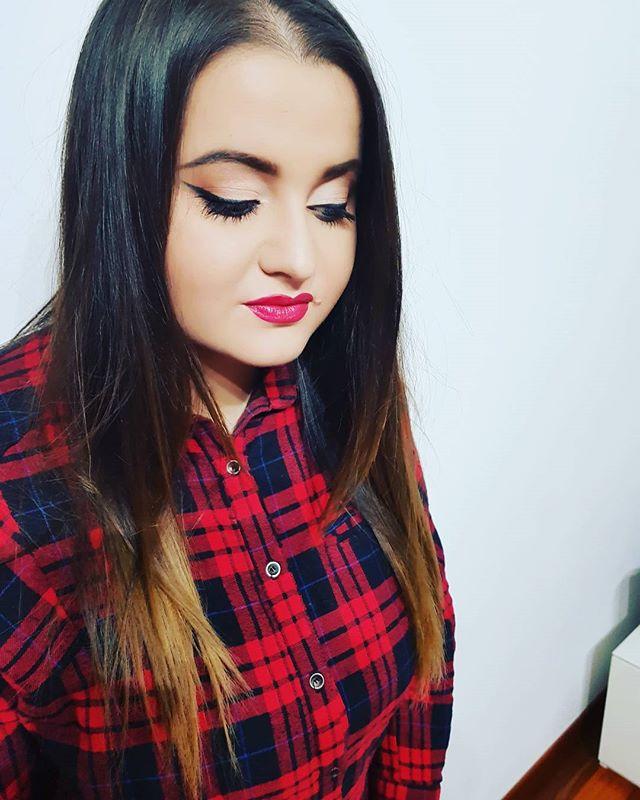 #makeup per la cugina______