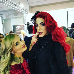 Estetica Show_Make up Contest Femme Fatale _My gorgeous model Crystal