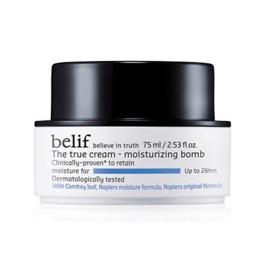 BELIF - The true cream, bombe d'hydratation, 75ml