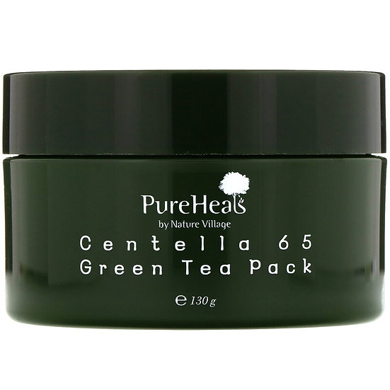 PUREHEALS - Masque Centella 65 au Thé vert, 130g