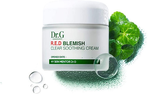 DR.G - Red blemish Clear soothing cream, 50ml X 2