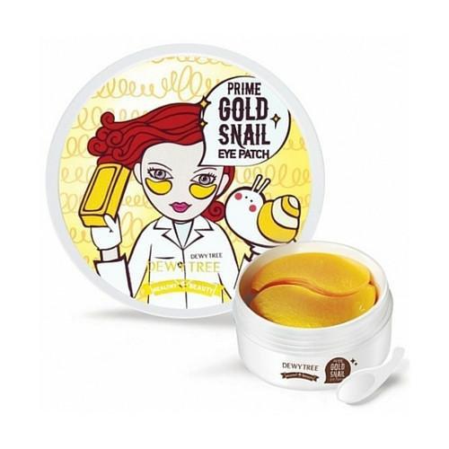 DEWYTREE - Prime Gold Snail Eye Patch, 60 pcs