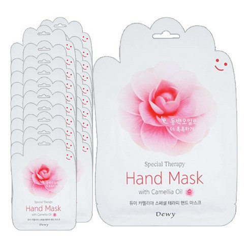 DEWY - Special Therapy Hand Mask Camelia Oil