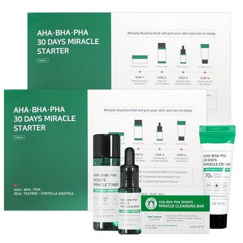 SOME BY MI - AHA/BHA/PHA 30 Days Miracle Starter, 4pcs
