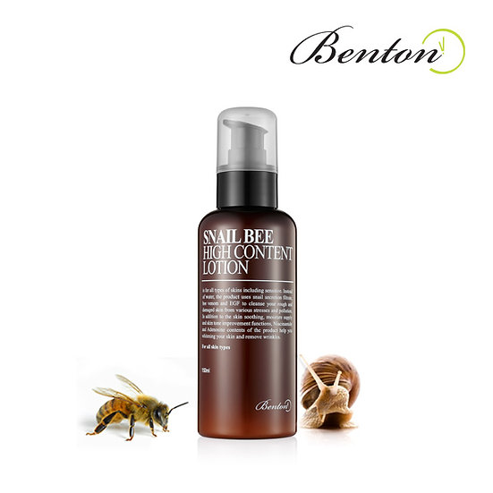 BENTON - Snail Bee High content Lotion, 120ml