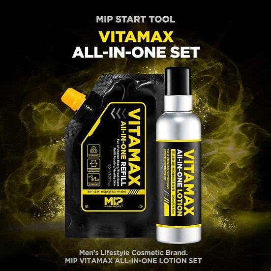 MIP - VITAMAX -Soins Tout en un 200ml + recharge 150ml