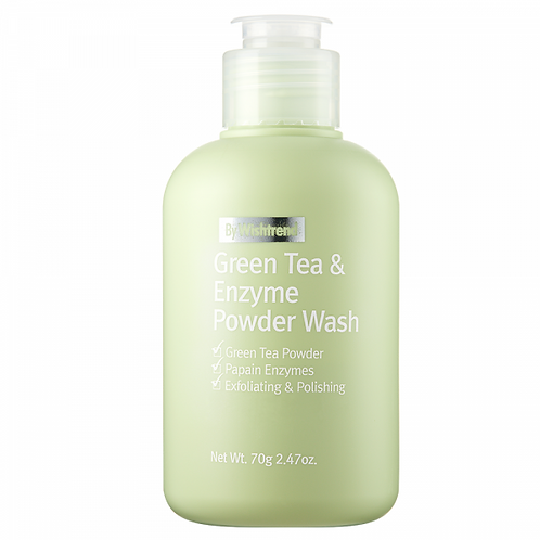 [By Wishtrend] Green Tea & Enzyme Powder Wash, 70g