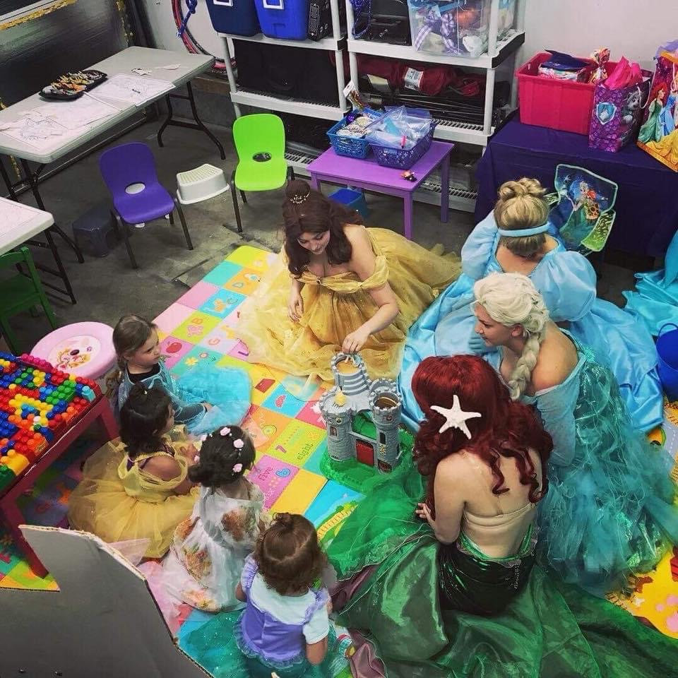 Outdoor Princess Party!