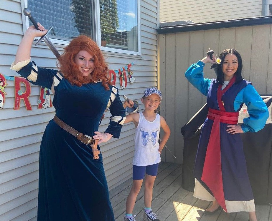 Sword Fight Party with Merida!