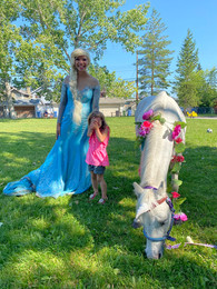 2020 our campers met a unicorn!