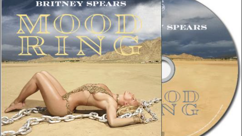 "Britney Spears ""Mood Ring"" Cd single"