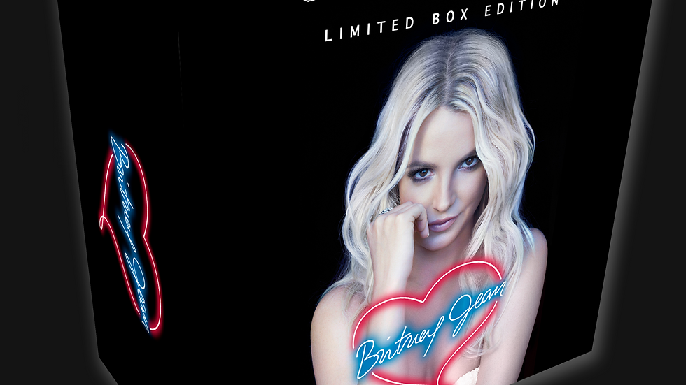 """Britney Spears """"Britney Jean Limited Box Edition"""" 12 cd + 3 Dvd"""
