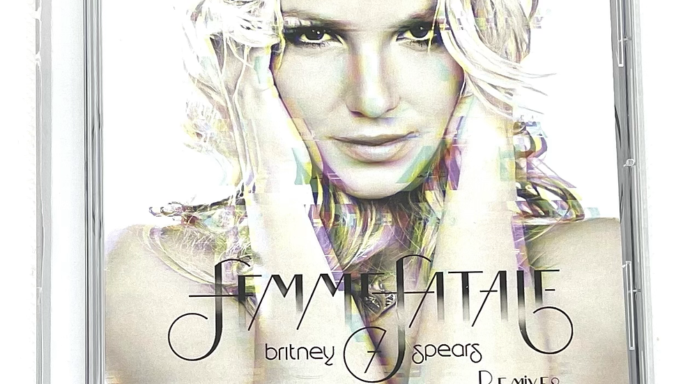 """Britney Spears """"Femme Fatale"""" 10th Anniversary Remixes"""