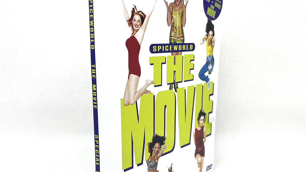 Spice Gilrs Spice World The Movie Special Edition Dvd + Cd