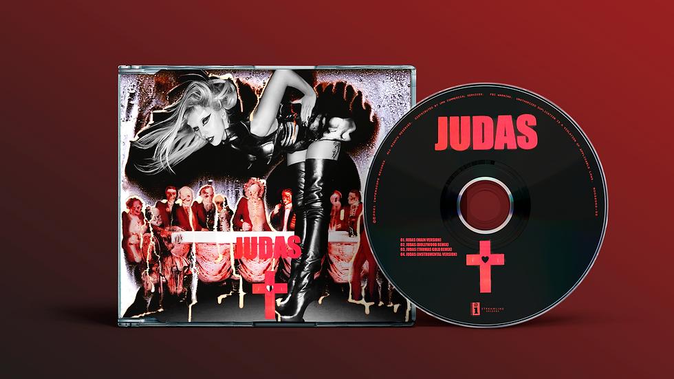 """Lady Gaga """"Judas"""" Single (Original Cover)"""