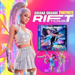 """Ariana Grande """"Fornite Rift Tour"""" Edición especial limitada Cd + Dvd"""