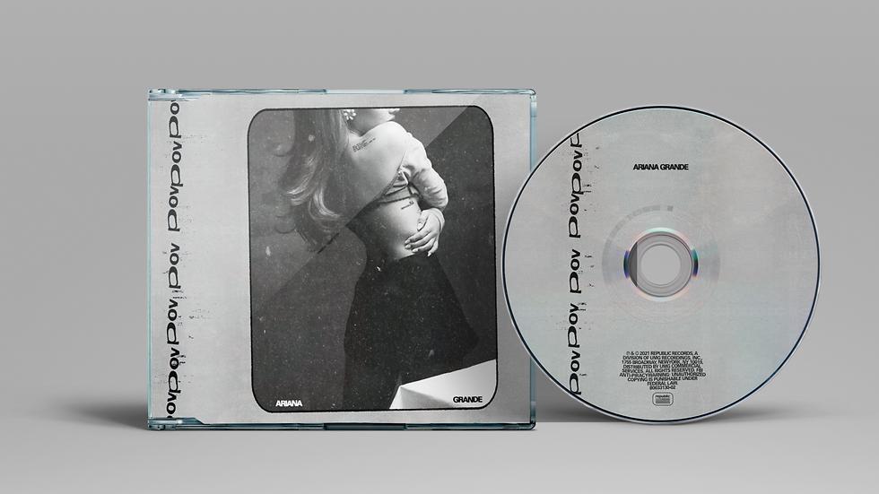 """Ariana grande """"Pov"""" cd single"""