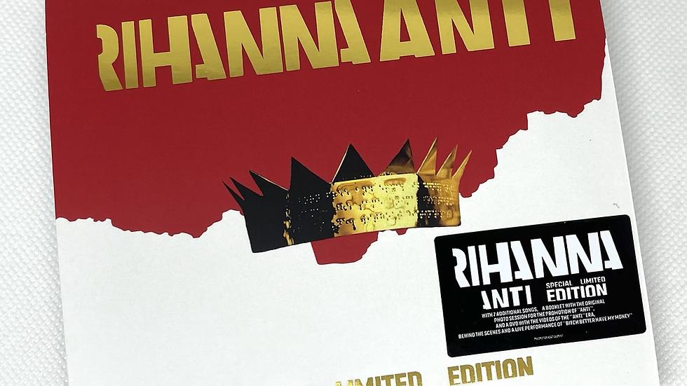 "Rihanna ""Anti"" Special Limited Edition Cd + Dvd"