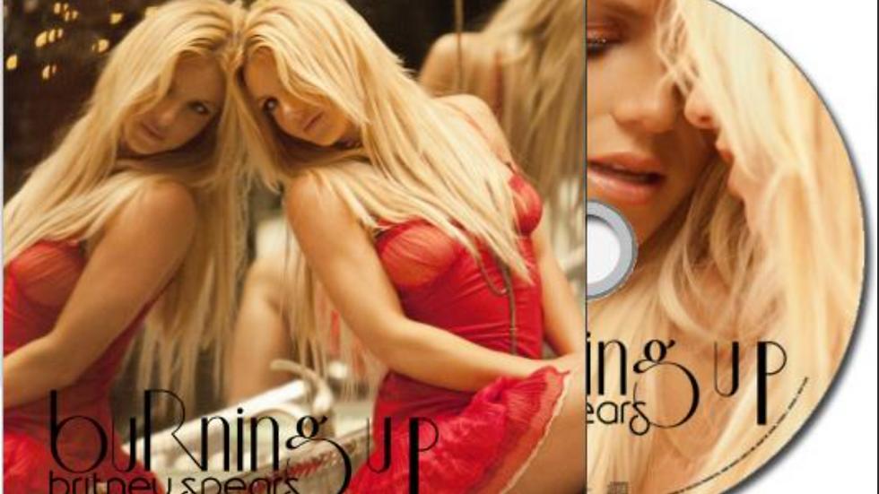 "Britney Spears ""Burning Up"" Cd Single"