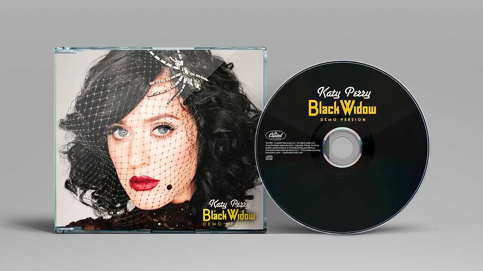 "Katy Perry ""Black Widow"" Demo Version"