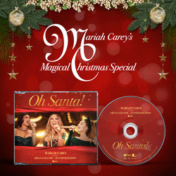 "Mariah Carey feat, Ariana Grande & Jennifer Hudson ""Oh Santa!"""