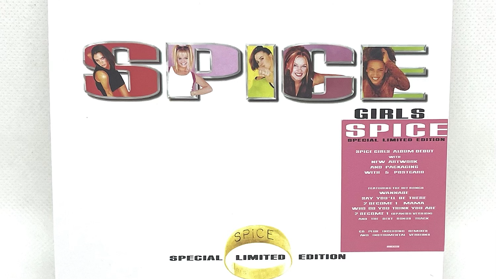 Spice Girls Spice Special Limited Edition 2 cd + poster +5 postcard