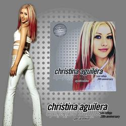 Christina Aguilera Mi Reflejo 20th Anniversary Especial Edition