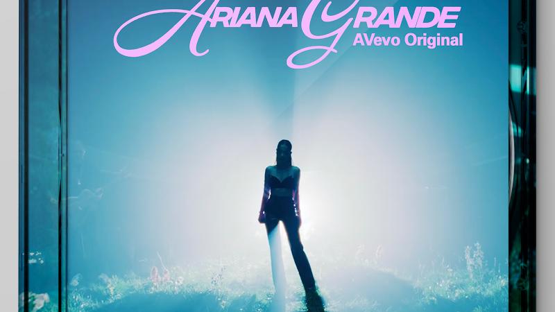 """Ariana Grande """"AVevo Original Performing Live"""" cd +dvd"""