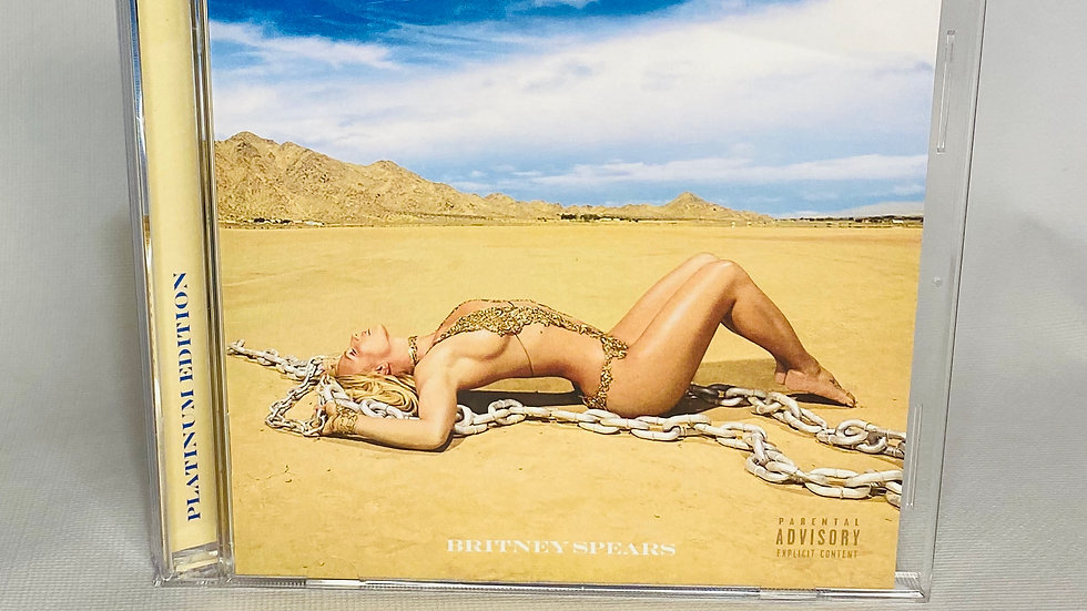 Britney Spears Glory Platinum Edition