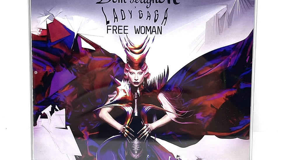 """Lady Gaga""""Free Woman - Don Pérignon"""" cd single"""