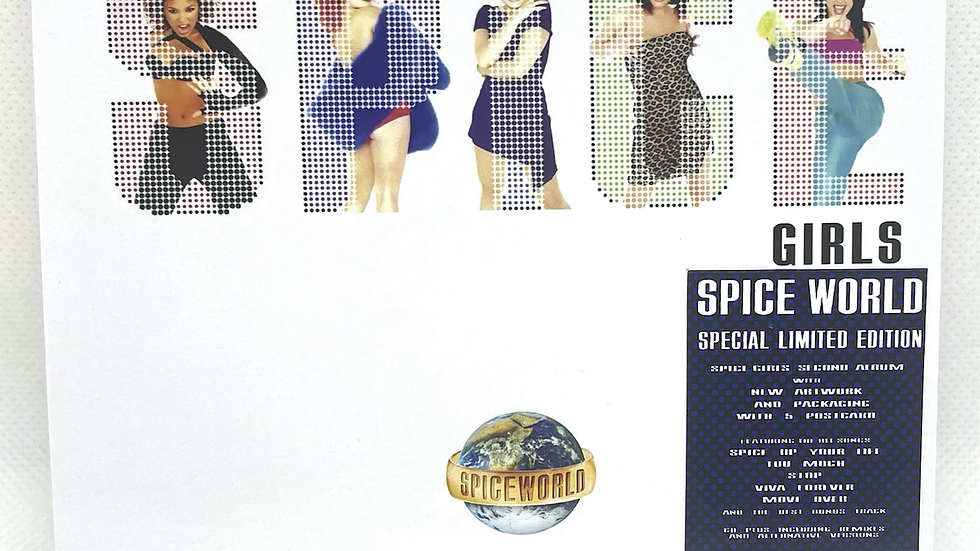 Spice Gilrs Spice World Special Limited Edition 2 cd + Poster + 5 Postcard