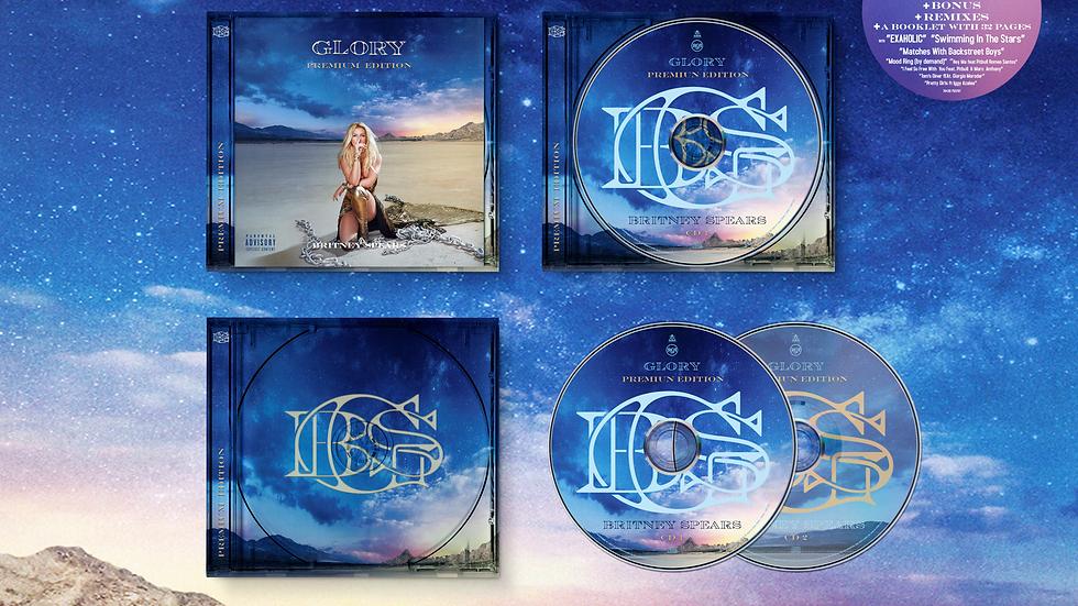 "Britney Spears ""Glory Premium Edition"" 2 cd"