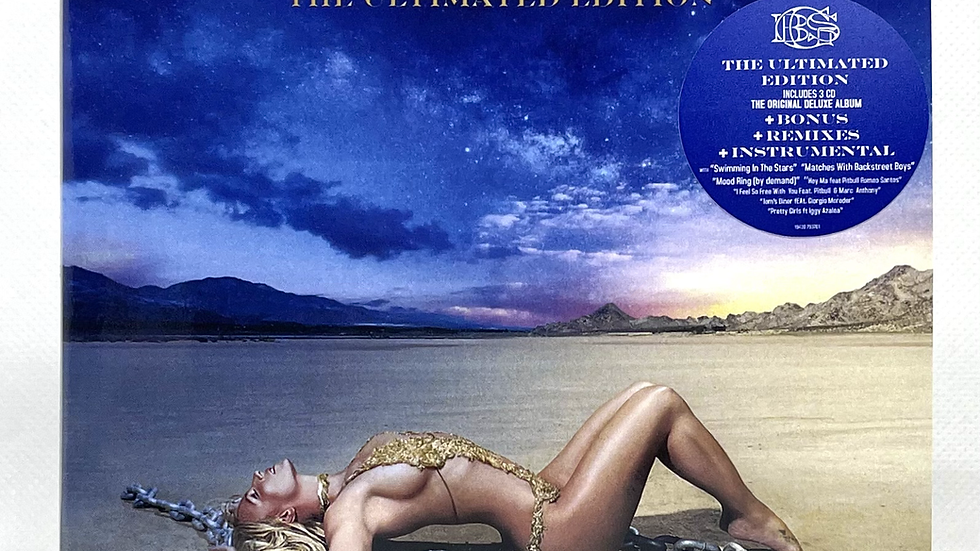 Britney Spears Glory The Ultimated Edition 3 cd