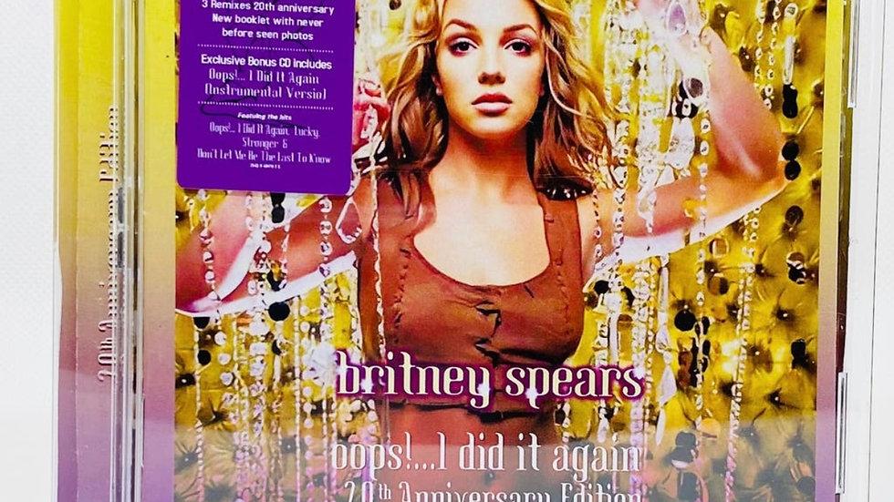 Britney Spears Oops! IDid It Again 20 Aniversario