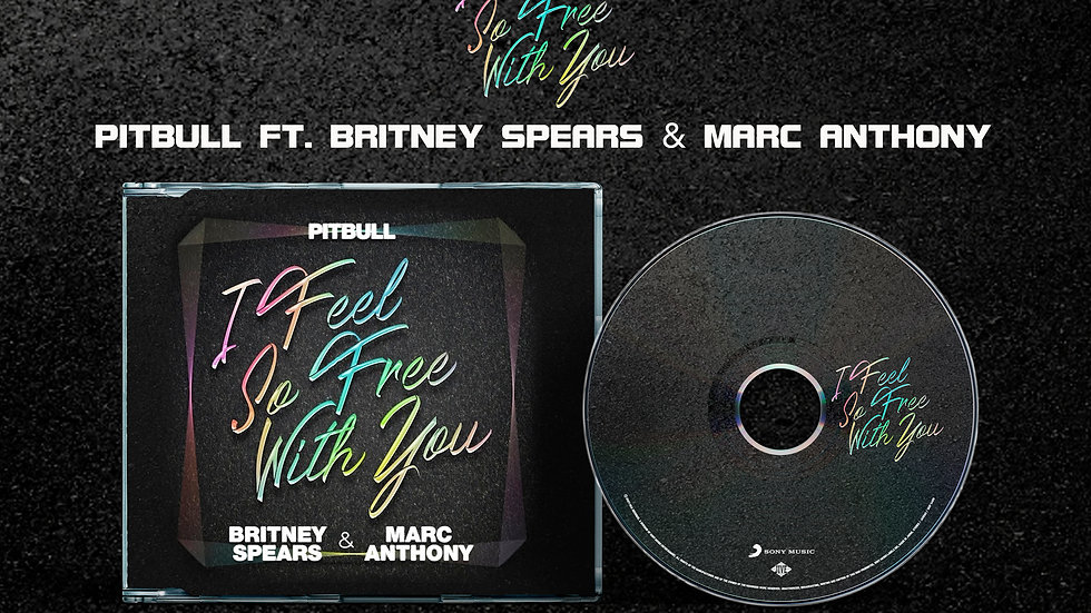 """Pitbull Ft. Britney Spears & Marc Anthony """"I Feel So Free With You"""" Pre Sale"""