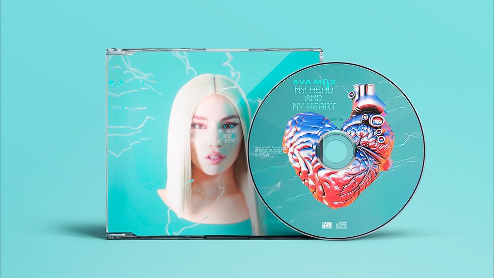 """Ava Max """"My Head My Heart"""" cd Single"""
