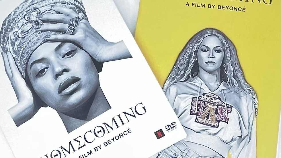 Beyonce Homecoming A Film By Beyoncé DVD