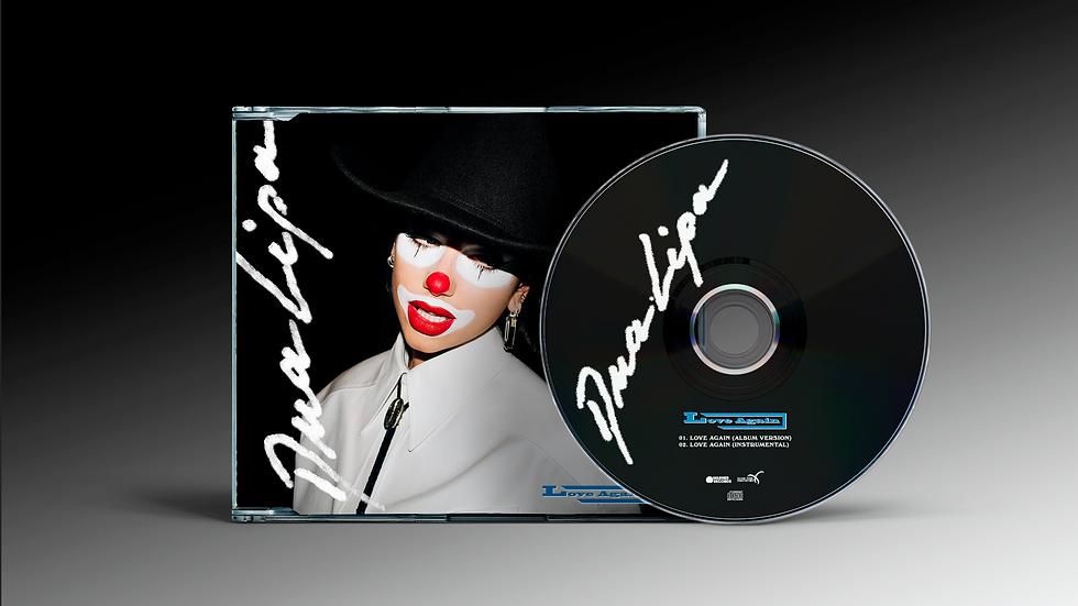 "Dua Lipa ""Love Again"" Cd Maxi Single"