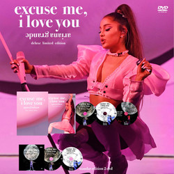 "Ariana Grande ""Excuse me, i love you"" Dvd + cd"