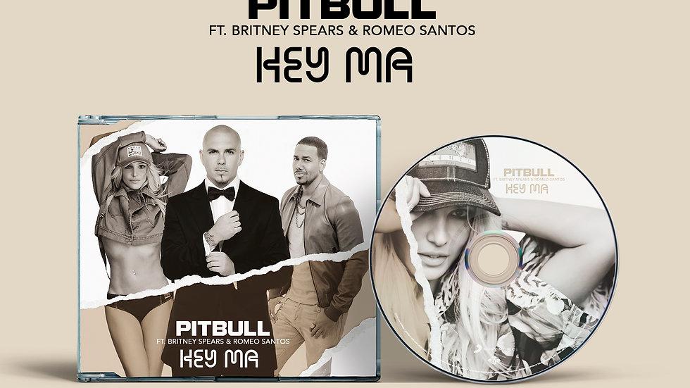 """Pitbull Ft. Britney Spears  & Romeo Santos """"Hey Ma"""" Pre-sale"""