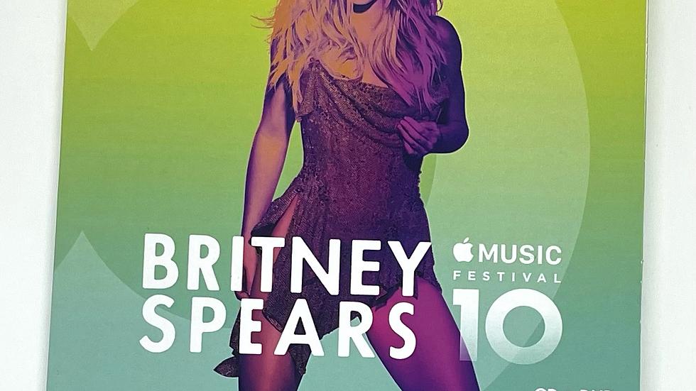"""Britney Spears """"Appel Music Festival 10"""" Cd+Dvd"""