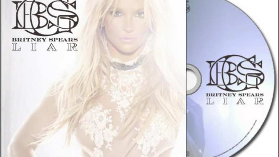 "Britney Spears ""Liar"" Cd Single"