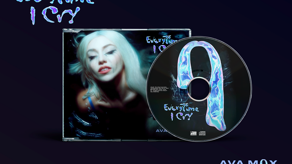 "Ava Max ""Everytime I Cry"" Cd Maxi Single"