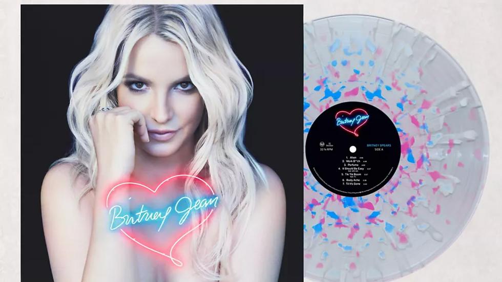 "Britney Spears ""Britney Jean"" Vinilo (Urban Outfitters)"