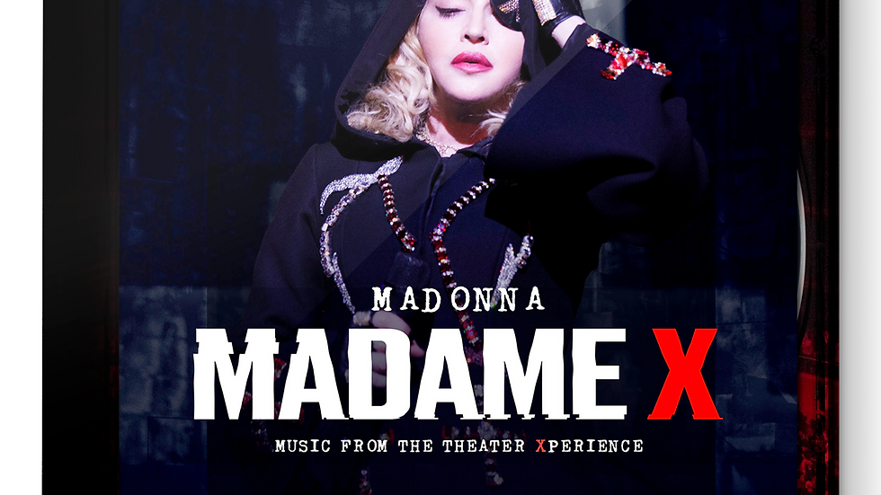 Madonna / Madame X – Music from the Theater Xperience. 2CD