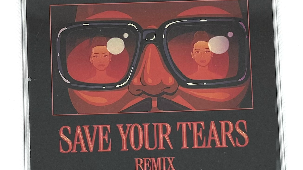 """The Weeknd / Ariana Grande """"Save Your Tears Remix"""""""