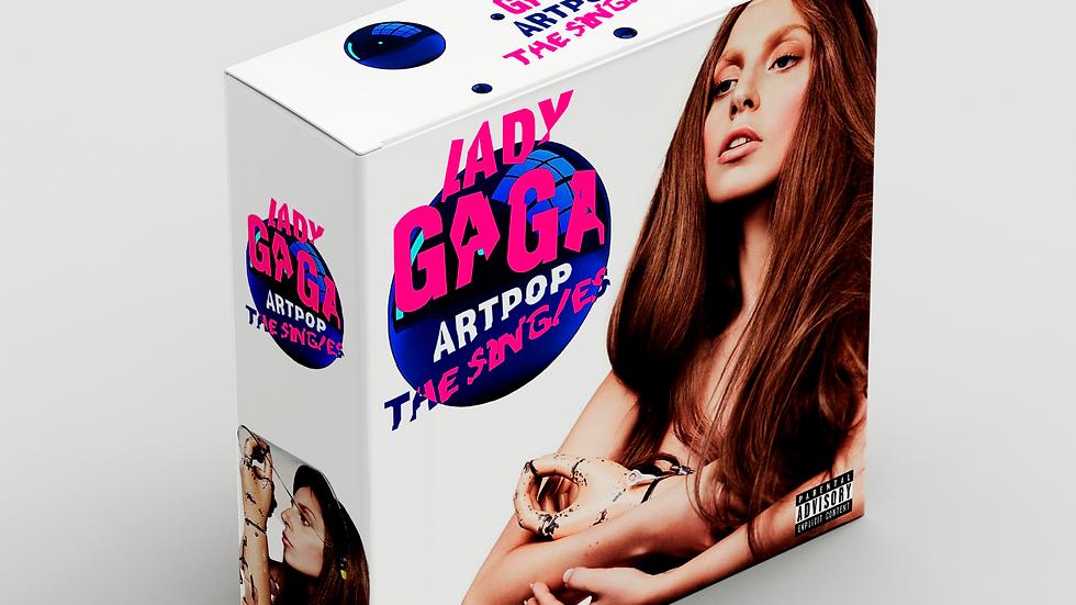 "Lady Gaga "" Artpop The Singles"""