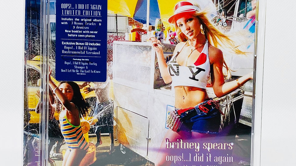 Britney Spears Oops! IDid It Again (Limited Edition)