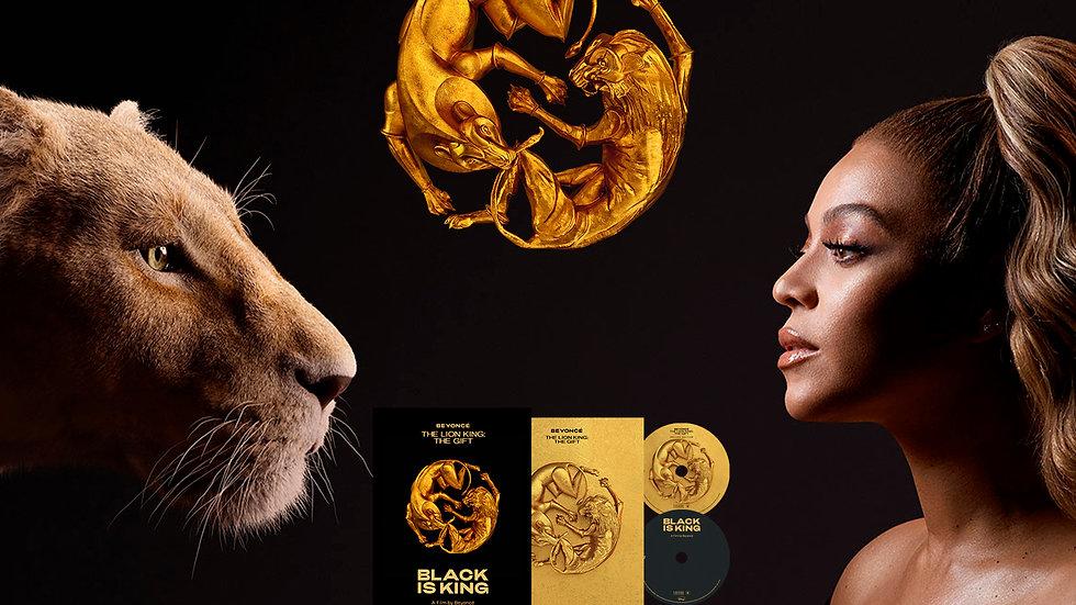 "Beyonce""Black Is King"" cd + dvd"
